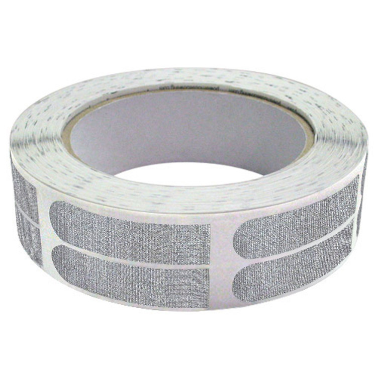 "Real Bowlers Tape 1/2"" Silver 500 Roll"