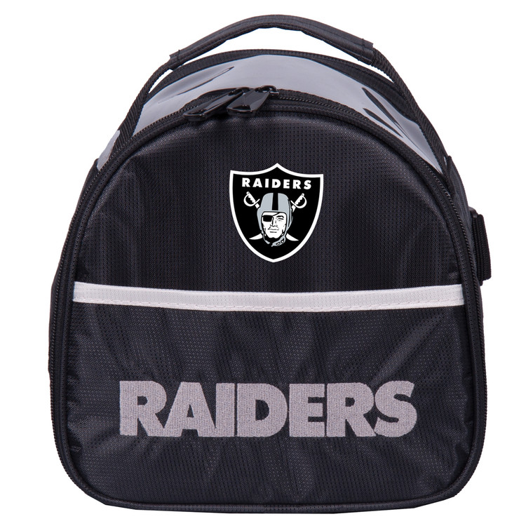 NFL Add On 1 Ball Single Tote Bowling Bag Oakland Raiders