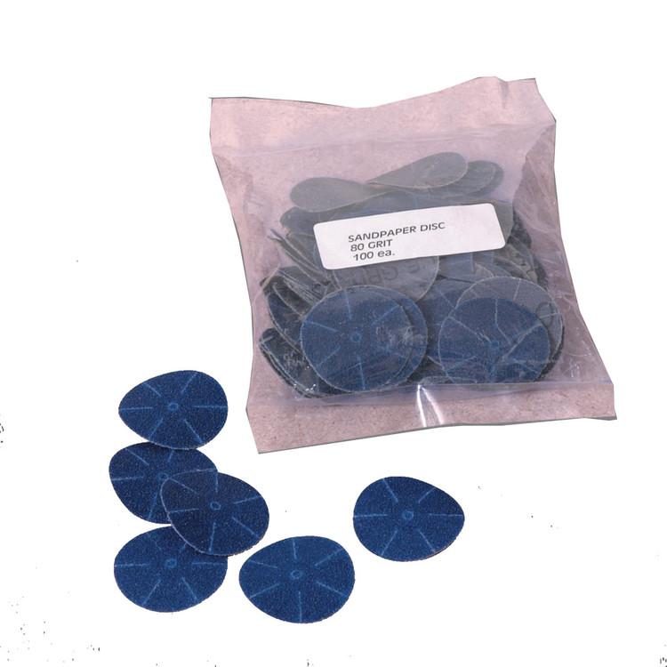 Powerhouse Sanding Discs 100 Grit (100 pcs)