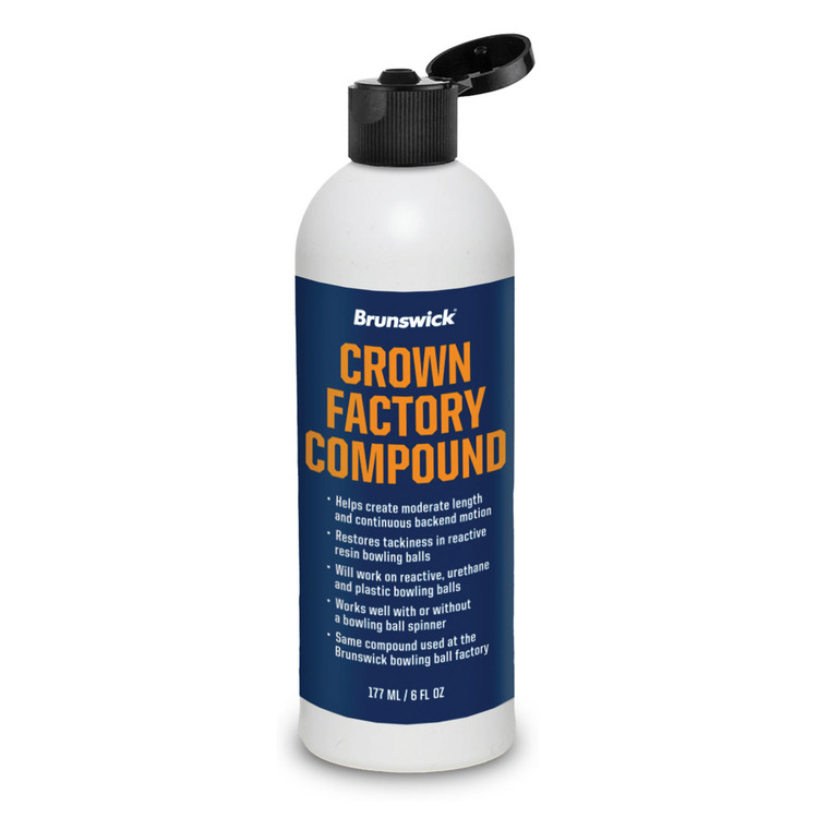 Brunswick Crown Factory Compound 6oz Bottle