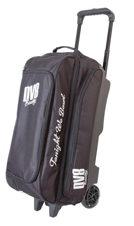DV8 Freestyle 3 Ball Triple Roller Bowling Bag Black