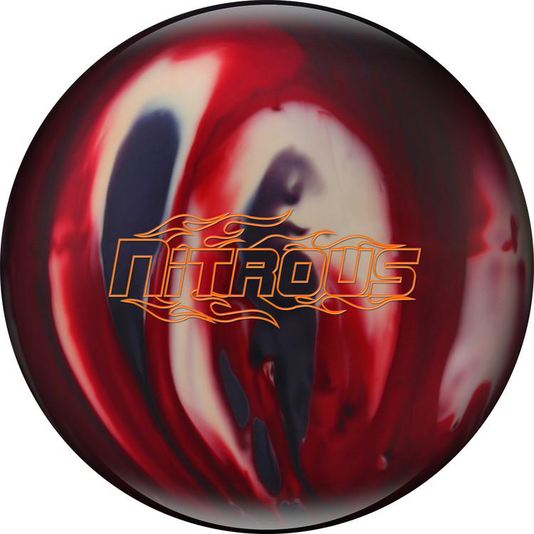 Columbia 300 Nitrous Bowling Ball Red Smoke White
