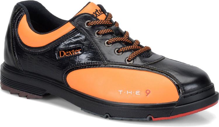 Dexter T.H.E. 9 Mens Bowling Shoes Black Orange