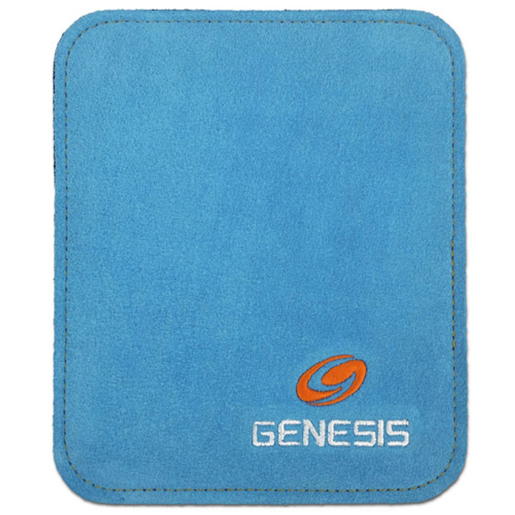 Genesis Pure Pad Buffalo Leather Ball Wipe Blue
