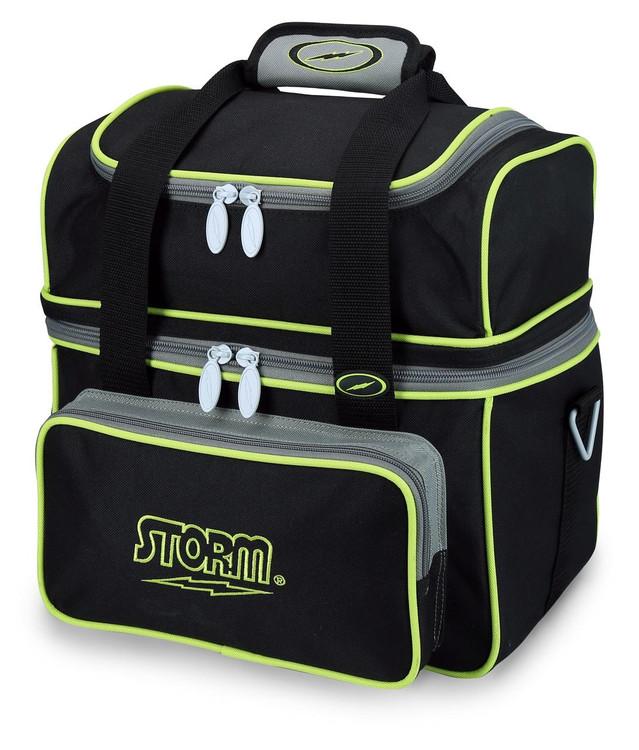 Storm Flip Tote 1 Ball  Bowling Bag Black Lime