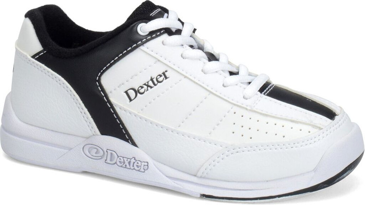 Dexter Ricky IV Mens Bowling Shoes White Black Wide Width