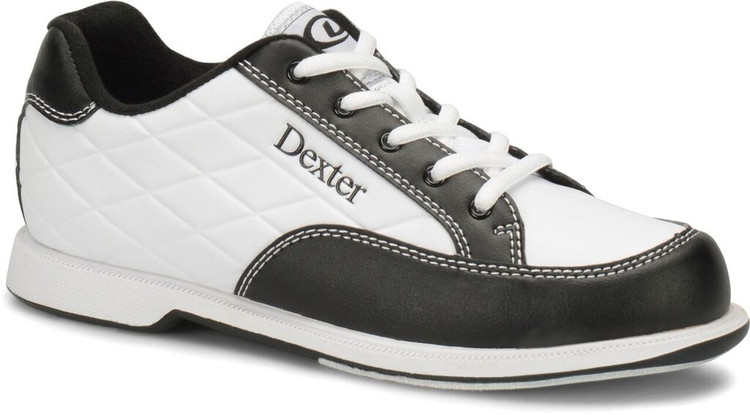 Dexter Groove III Women's  Bowling Shoes White Black Wide Width