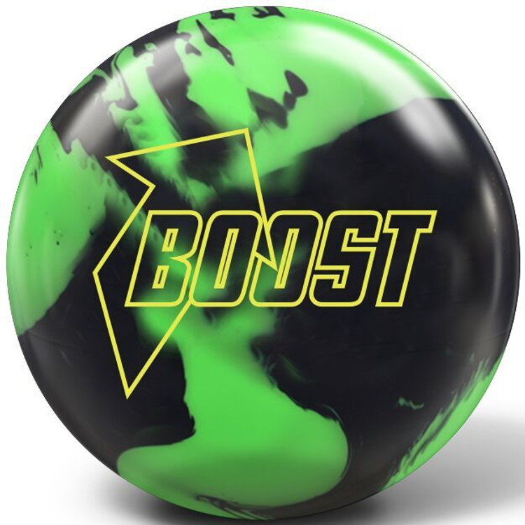 Global Boost Bowling Ball Black Green