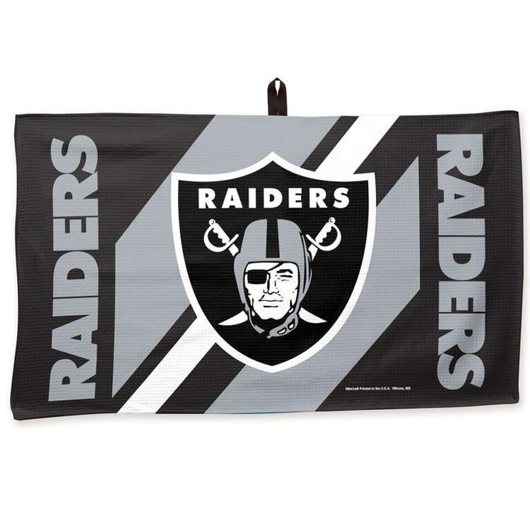 Master NFL Bowling Towel Oakland Raiders