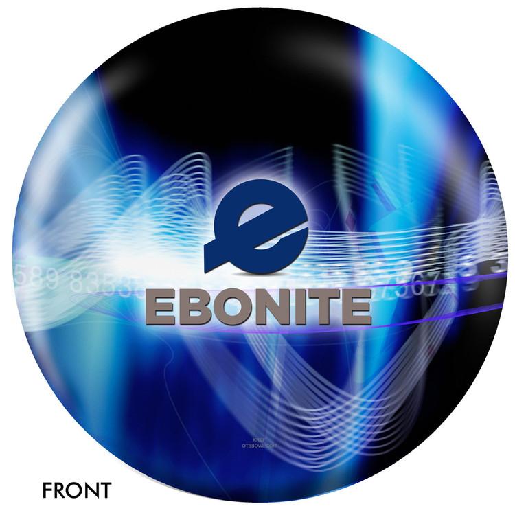 Ebonite Logo Ball Front View