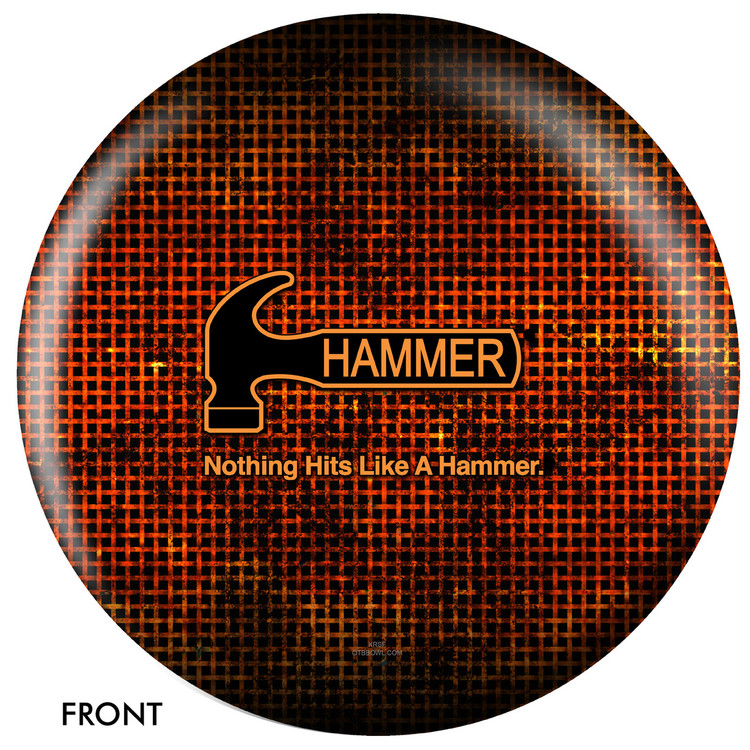 Hammer Logo Ball Front View