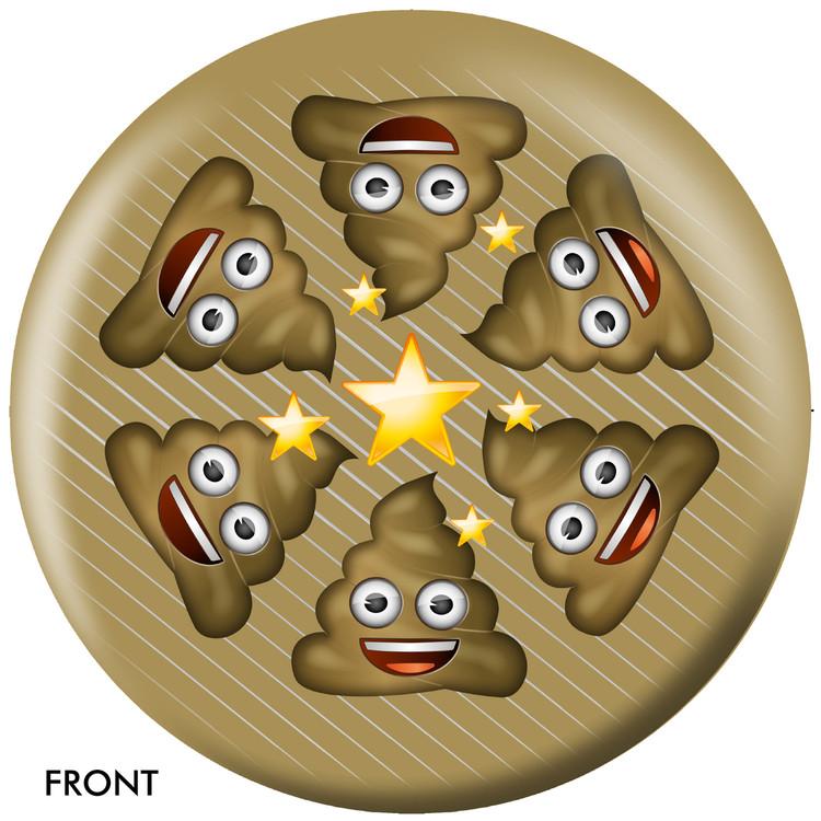 Emoji Poo Happens Front View