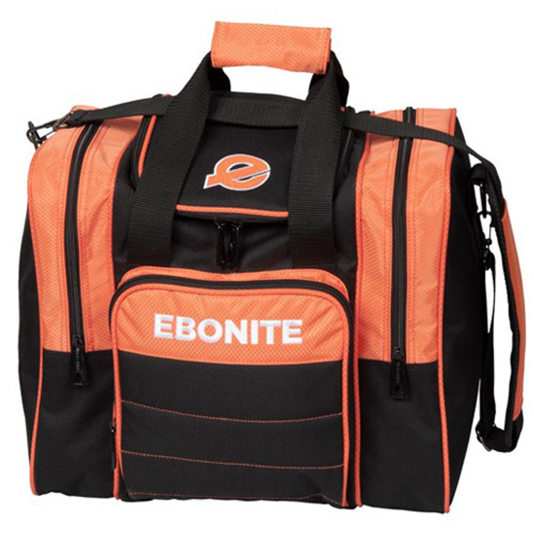 Ebonite Impact Plus Single Tote Bowling Bag Orange