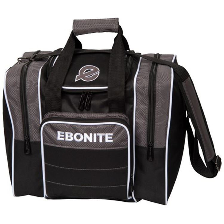 Ebonite Impact Plus Single Tote Bowling Bag Smoke
