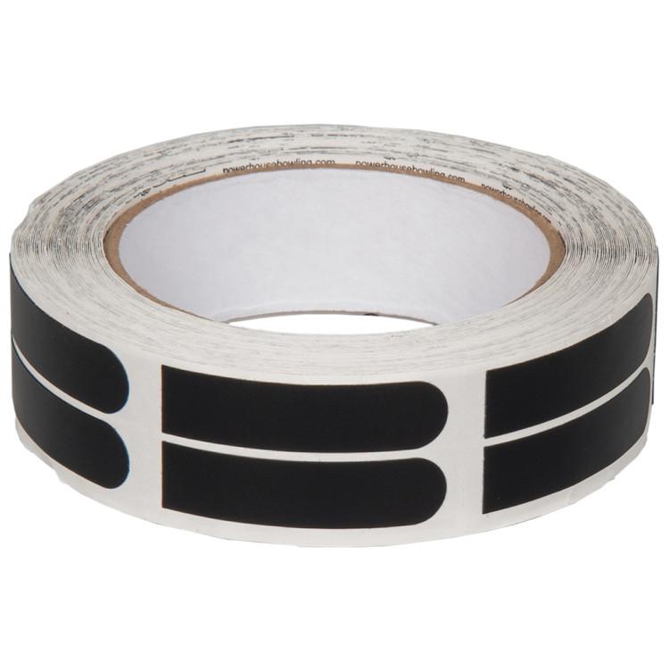 "Ebonite Ultra Grip 1/2"" Black Tape 100 Piece Roll"