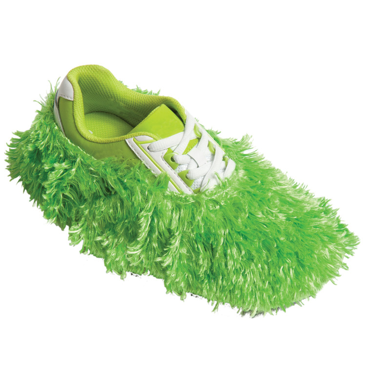 Robby's Fuzzy Shoe Cover Lime