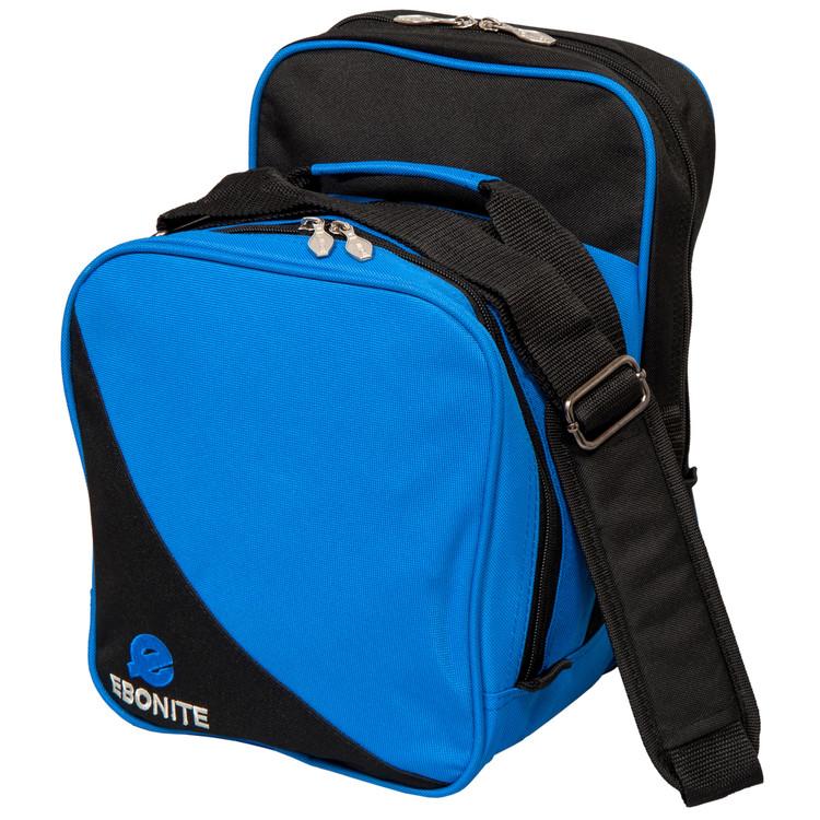 Ebonite Compact 1 Ball Single Tote Bowling Bag Blue