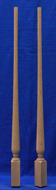 K1211 Square Bottom Pin Top Baluster