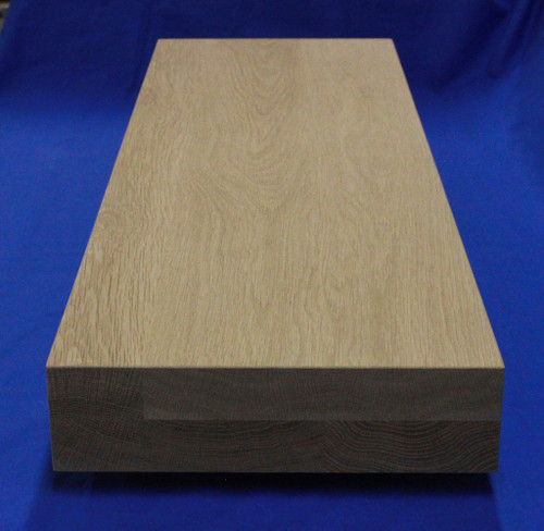 2-1/2 inch Thick Stair Treads White Oak