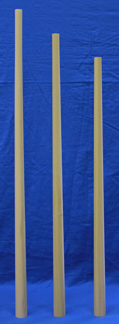 Round Tapered Wood Balusters Paint Grade