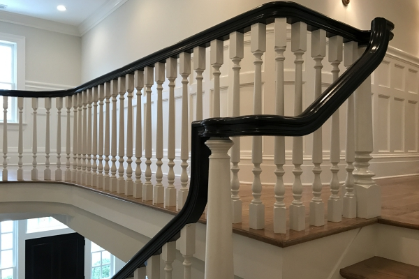 High Quality Wood Stair Parts, Thick Stair Treads, Large Newel Posts And  More Stair Parts Direct From The Manufacturer