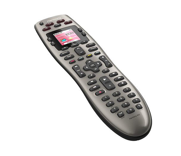 Logitech Harmony 650 Remote - Color-screen remote
