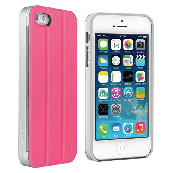 Logitech case+tilt for iPhone 5 and iPhone 5s pink