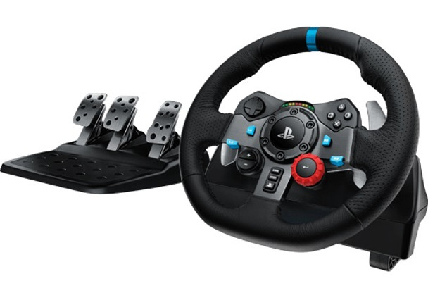 Logitech G29 Driving Force Racing Wheel for PlayStation 4 & PC + Shifter Combo