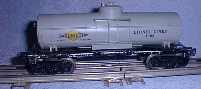 Freight Cars Tank Vat Cars 1005 Sunoco Tank Car Lionel