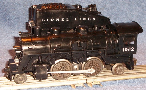 motive power steam scout 1062 scout locomotive lionel trains rh postwarlionel com Lionel F3 Wiring Lionel Transformer Wiring