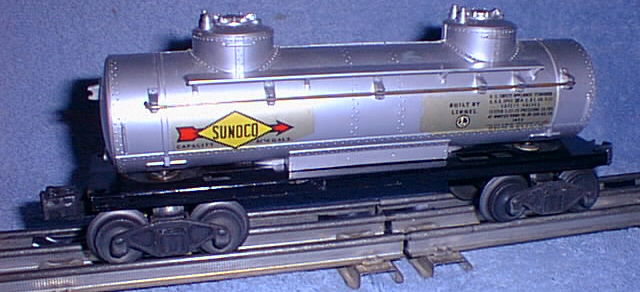 Freight Cars Tank Vat Cars 2465 Sunoco Tank Car Lionel