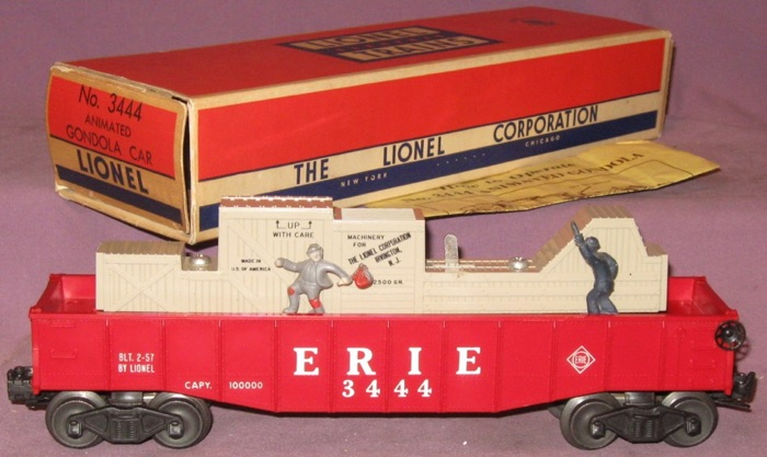 Freight cars barrel gondola cars 3444 erie lionel trains library 3444 erie cheapraybanclubmaster Gallery