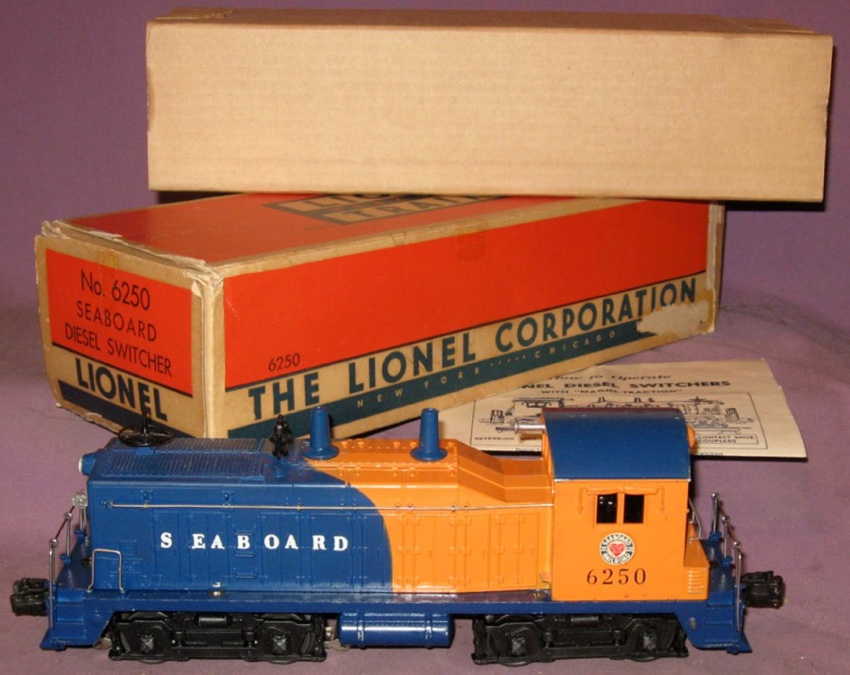 motive power diesels nw2 switcher 6250 seaboard lionel rh postwarlionel com
