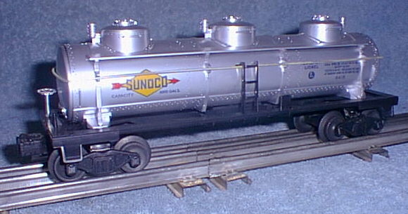 Freight Cars Tank Vat Cars 6415 Sunoco Tank Car Lionel