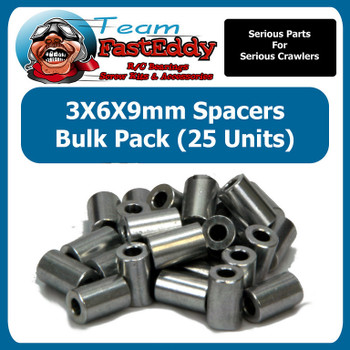 3X6X9 Spacers (25 Pack)