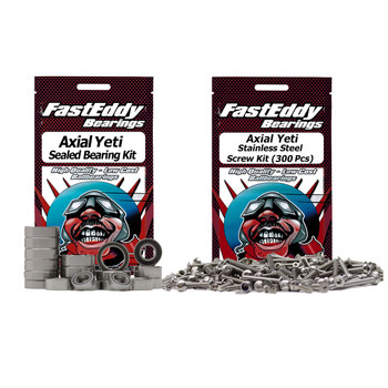Axial Yeti Bearing and Screw Kit Combo