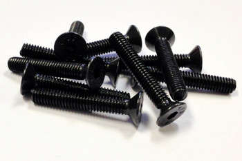 M4X25 FHSC (10 Units Flat Head Cap Screw)