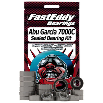 Abu Garcia 7000C Fishing Reel Rubber Sealed Bearing Kit