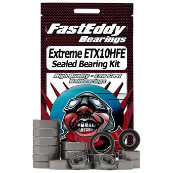 Bass Pro Extreme ETX10HFE Baitcaster Fishing Reel Rubber Sealed Bearing Kit