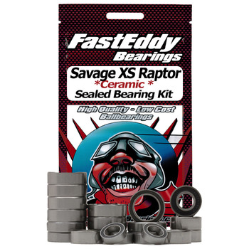 HPI Savage XS Raptor Ceramic Rubber Sealed Bearing Kit