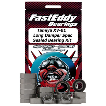 Tamiya XV-01 Chassis Long Damper Spec Sealed Bearing Kit
