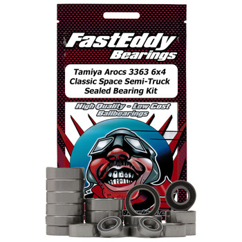 Tamiya Arocs 3363 6x4 Classic Space Semi-Truck Sealed Bearing Kit