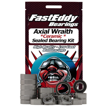 Axial Wraith Ceramic Sealed Bearing Kit