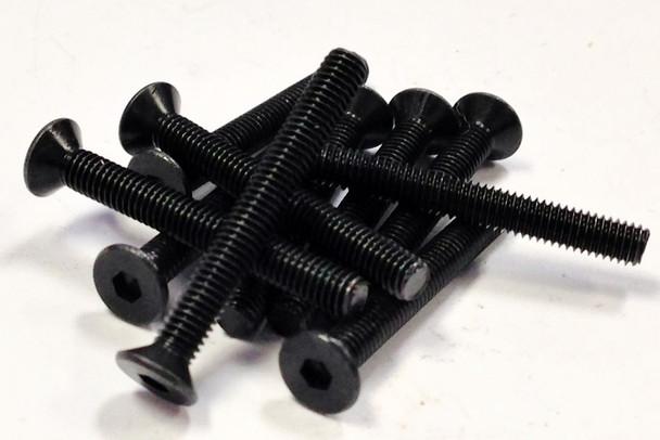 M3X25 FHCS (10 Units Flat Head Cap Screw)
