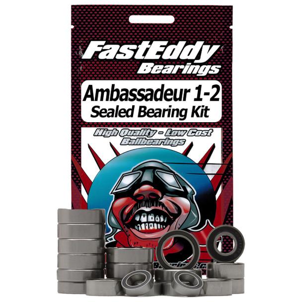 Abu Garcia Ambassadeur 1-2 Baitcaster Fishing Reel Rubber Sealed Bearing Kit