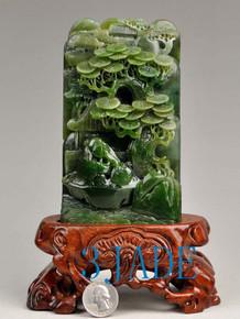 jade Oriental Scenery