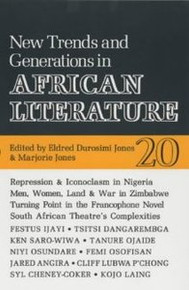 AFRICAN LITERATURE TODAY, Vol. 20New Trends and Generations in African LiteratureEdited by Eldred Durosimi Jones & Marjorie Jones