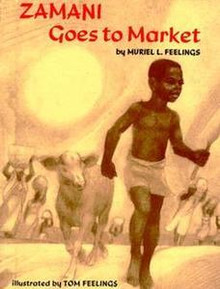 Zamani Goes to Market, by Muriel L. Feelings (Hardcover)
