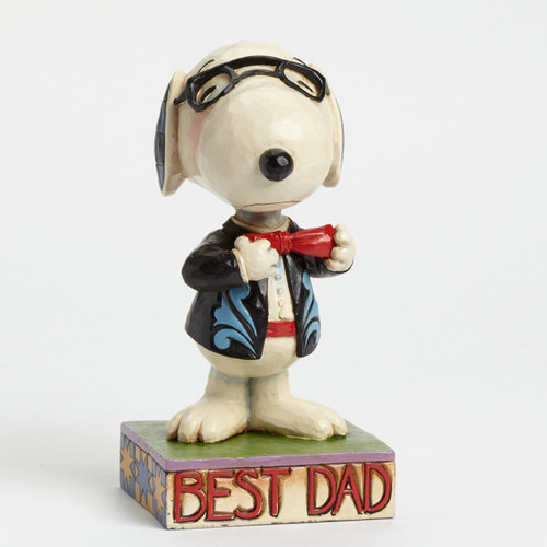 Snoopy, Best Dad Peanuts by Jim Shore Item 4043615