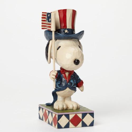 Snoopy, Patriot Peanuts by Jim Shore Item 4043617